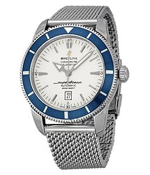 Breitling Superocean Heritage 46 Silver Dial Men's Watch A1732016-G642SS