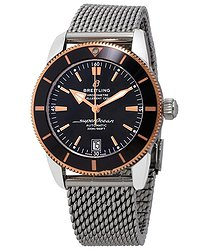 Breitling Superocean Heritage II Automatic Chronometer Black Dial Men's Watch