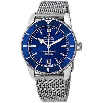 Купить часы Breitling Superocean Heritage II Automatic Men's Stainless Steel Mesh Watch  в ломбарде швейцарских часов