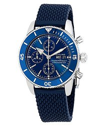 Breitling Superocean Heritage II Chronograph Automatic Blue Dial Men's Watch