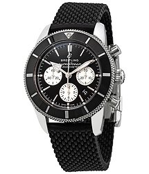 Breitling Superocean Heritage II Chronograph Automatic Chronometer Black Dial Men's Watch