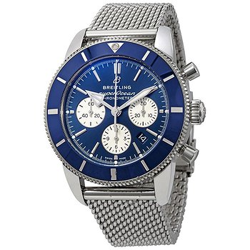 Купить часы Breitling Superocean Heritage II Chronograph Automatic Chronometer Blue Dial Men's Watch  в ломбарде швейцарских часов
