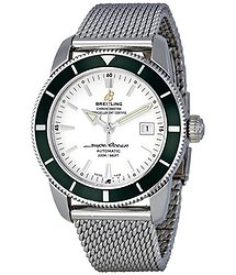 Breitling Superocean Heritage Silver Dial Steel Men's Watch