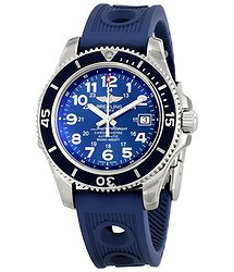 Breitling Superocean II 42 Automatic Blue Dial Men's Watch A17365D1-C915BLOR