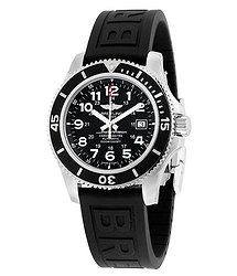 Breitling Superocean II 44 Automatic Black Dial Men's Watch A17392D7-BD68BKPD3