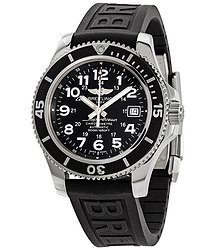 Breitling Superocean II Automatic Black Dial Men's Watch