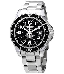 Breitling Superocean II Automatic Volcano Black Dial Men's Watch