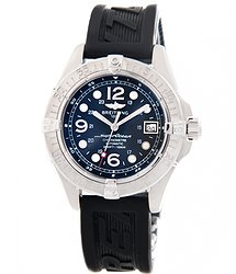 Breitling Superocean Stainless steel 42mm Black Dial A17360