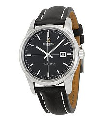 Breitling Transocean Automatic Black Dial Men's Watch