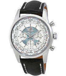 Breitling Transocean Chronograph Unitime Automatic Men's Watch AB0510U0-A732BKLD