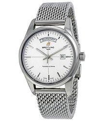 Breitling Transocean Day Date Automatic Men's Watch A4531012-G751SS