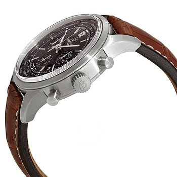 Купить часы Breitling Transocean Unitime Pilot Chronograph Automatic Chronometer Men's Leather Watch  в ломбарде швейцарских часов
