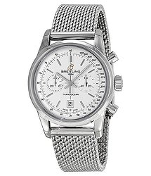 Breitling Transocean White Dial Men's Watch A4131012-G757SS