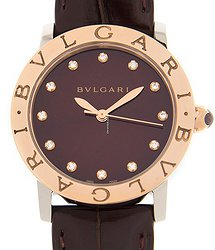 Bulgari 18kt Rose Gold Red Automatic BBL33C11SPGLC11/12