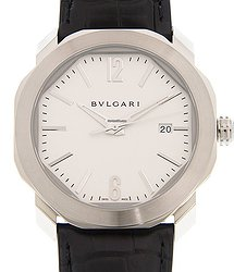 Bulgari Octo Roma Stainless Steel White Automatic OC41C6SLD