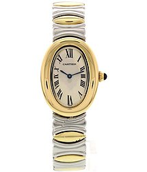 Cartier Baignoire Quartz White Dial Ladies Watch