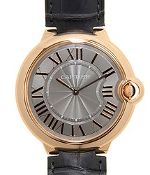 Cartier Ballon Bleu 18kt Rose Gold Gray Manual Wind W6920089