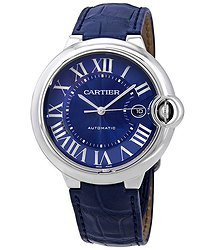 Cartier Ballon Bleu Automatic Blue Dial Men's Watch