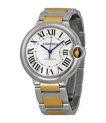 Cartier Ballon Bleu Automatic Silver Dial Unisex Watch