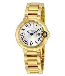 Cartier Ballon Bleu de 18k Yellow Gold Small Watch