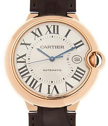 Cartier Ballon Bleu de Automatic White Dial Men's Watch