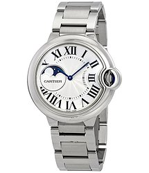 Cartier Ballon Bleu de Moonphase Automatic Ladies Watch