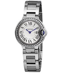 Cartier Ballon Bleu Diamond Ladies Watch