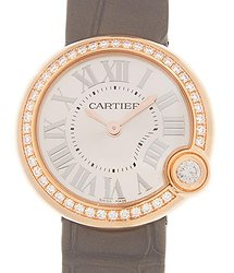 Cartier Ballon Bleu Quartz Silver Dial Watch