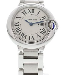 Cartier Ballon Bleu Quartz White Dial Ladies Watch