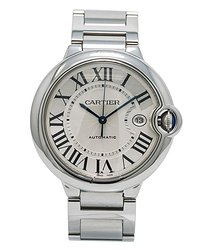 Cartier Ballon Bleu Silver-tone Dial Men's Watch