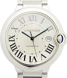 Cartier Ballon Bleu Stainless Steel Silver Automatic W69012Z4