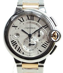 Cartier Ballon Bleu Stainless Steel Silver Automatic W6920063