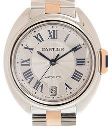 Cartier Ballon Bleu Stainless Steel White Automatic W2CL0011