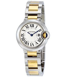 Cartier Ballon Bleu White Dial Ladies Watch