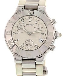 Cartier Chronoscaph 21 Chronograph Quartz Men's Watch