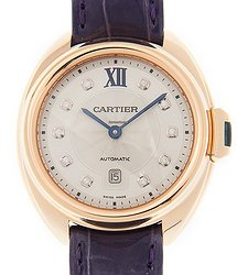 Cartier Clé De Cartier 18kt Rose Gold White Automatic WJCL0031