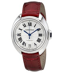 Cartier Cle De Automatic Ladies Watch