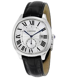 Cartier Drive Automatic Silvered Flinque Dial Men's Watch