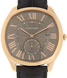 Cartier Drive De Cartier 18kt Rose Gold Black Automatic WGNM0004
