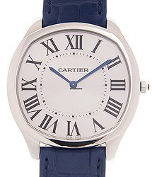 Cartier Drive De Cartier Stainless Steel Silver Manual Wind WSNM0011