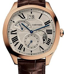 Cartier DRIVЕ de Cartier watch, Large Date, Retrograde Second Time Zone and Day Night Indicator