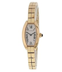 Cartier Lanieres Quartz Silver Dial Ladies Watch