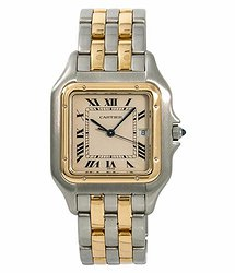 Cartier Panthere de Quartz White Dial Men's Watch