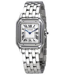 Cartier Panthere de Silver Dial Ladies Watch