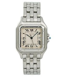 Cartier Panthere Jumbo Beige Dial Men's Watch