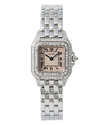 Cartier Panthere Quartz Diamond Ladies Watch