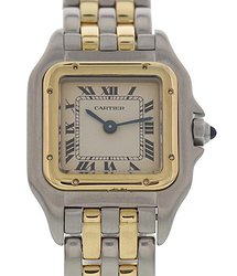 Cartier Panthere Quartz White Dial Ladies Watch