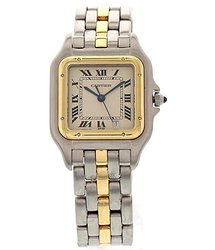 Cartier Panthere Quartz White Dial Watch