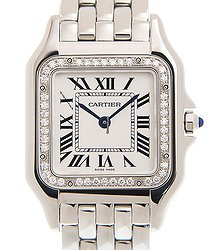 Cartier Panthère De Cartier Stainless Steel White Quartz W4PN0008