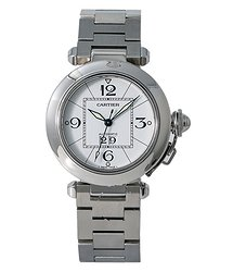 Cartier Pasha Automatic White Dial Ladies Watch